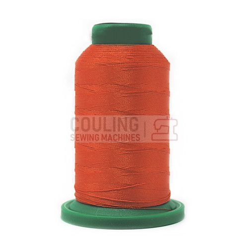 Isacord Polyester Embroidery Machine Thread 1000m - Clay Orange 1114