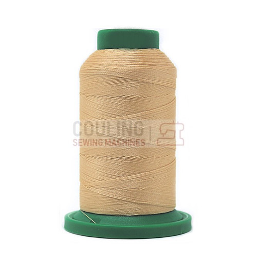 Isacord Polyester Embroidery Machine Thread 1000m - Meringue Cream 1140