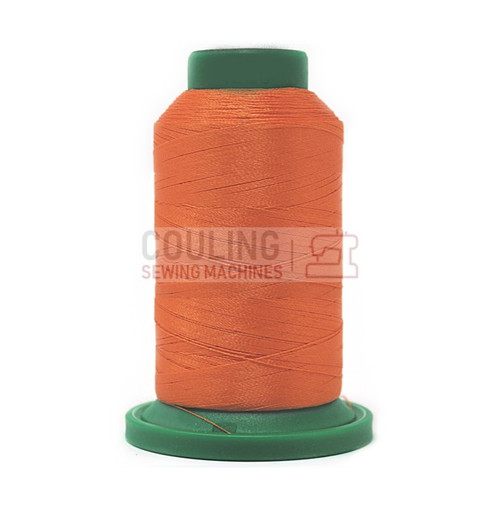 Isacord Polyester Embroidery Machine Thread 1000m Apricot Orange 1220