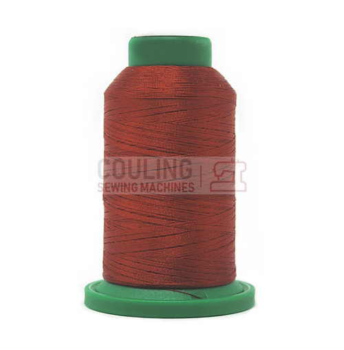 Isacord Polyester Embroidery Machine Thread 1000m - Spice Red 1334