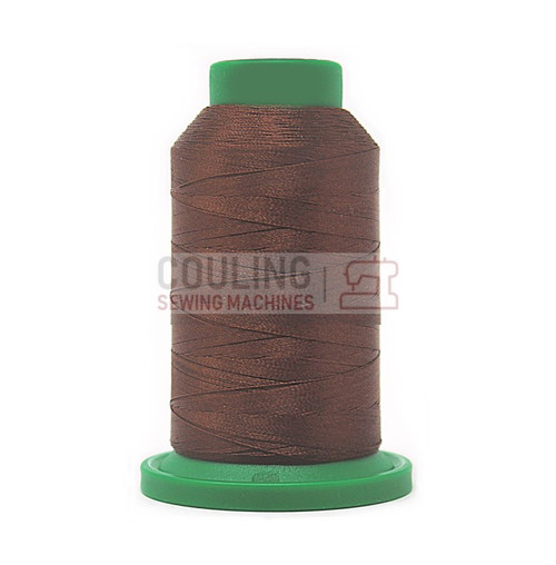 Isacord Polyester Embroidery Machine Thread 1000m - Fox Brown 1355