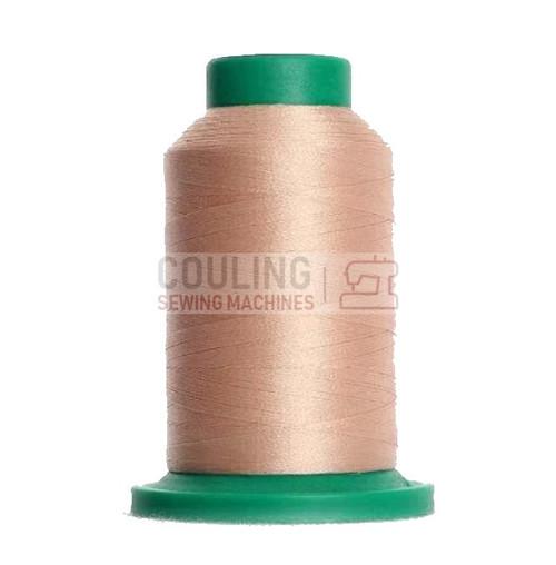 Isacord Polyester Embroidery Machine Thread 1000m - Twine Dark Cream 1760