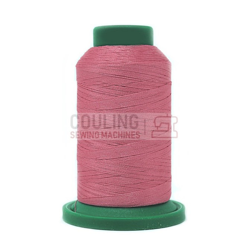 Isacord Polyester Embroidery Machine Thread 1000m - Heather Pink 2152