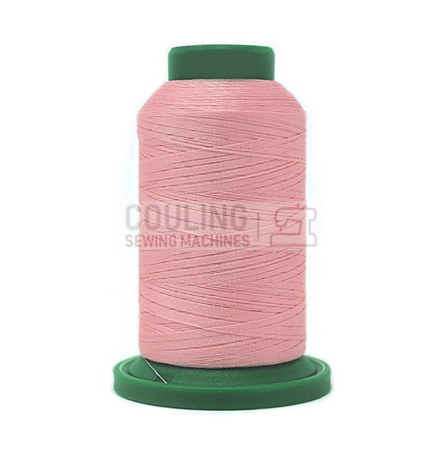 Isacord Polyester Embroidery Machine Thread 1000m - Iced Pink 2160
