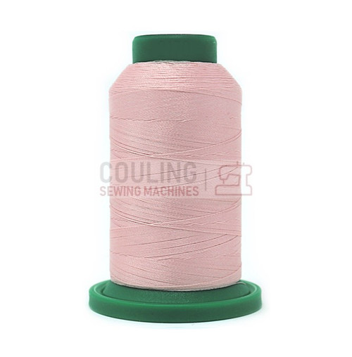 Isacord Polyester Embroidery Machine Thread 1000m - Chiffon Pink 2170