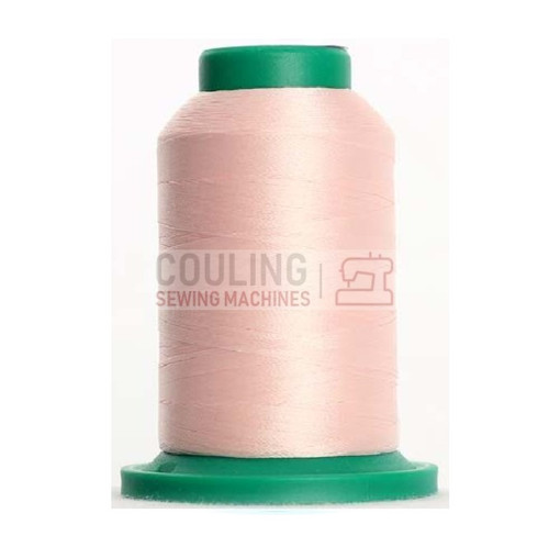 Isacord Polyester Embroidery Machine Thread 1000m - Blush Pink 2171