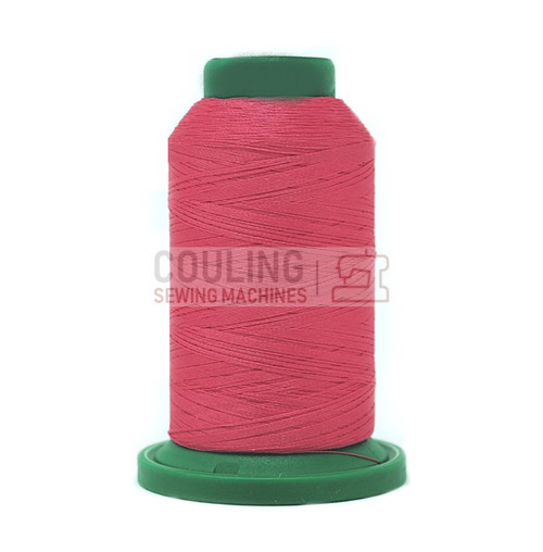 Isacord Polyester Embroidery Machine Thread 1000m - Tropicana Pink 2220