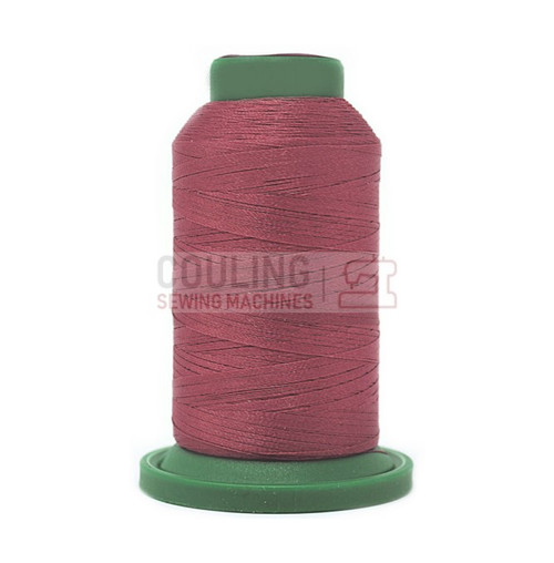 Isacord Polyester Embroidery Machine Thread 1000m - Mauve 2241