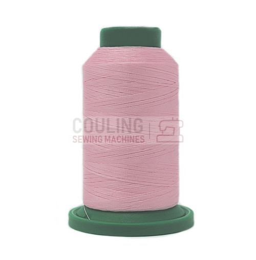 Isacord Polyester Embroidery Machine Thread 1000m - Carnation Pink 2363