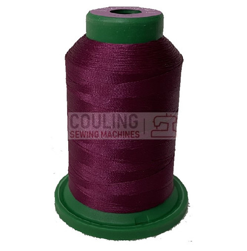 Isacord Polyester Embroidery Machine Thread 1000m - Boysenberry 2500