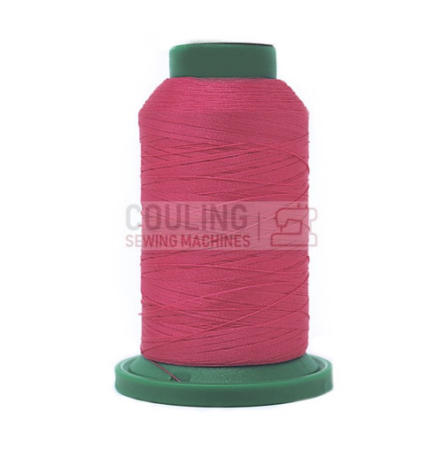 Isacord Polyester Embroidery Machine Thread 1000m - Garden Rose Pink 2520