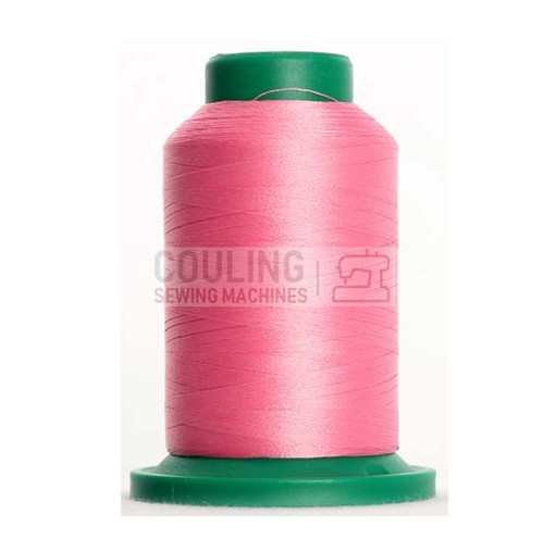 Isacord Polyester Embroidery Machine Thread 1000m - Azalea Pink 2560