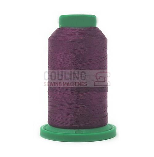 Isacord Polyester Embroidery Machine Thread 1000m - Dark Current Purple 2711