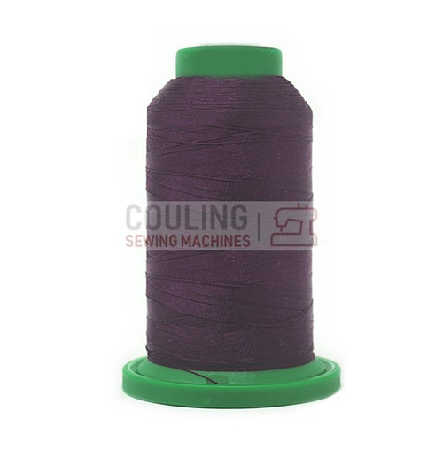 Isacord Polyester Embroidery Machine Thread 1000m - Pansy Purple 2715