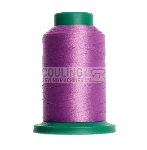 Isacord Polyester Embroidery Machine Thread 1000m - Wild Iris Purple 2830