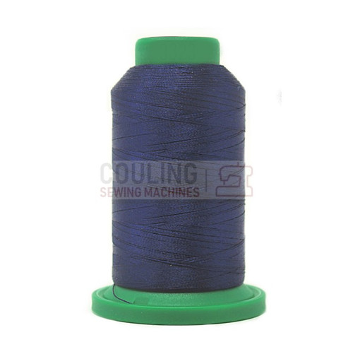 Isacord Polyester Embroidery Machine Thread 1000m - Delft Blue 3323
