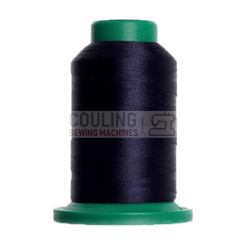 Isacord Polyester Embroidery Machine Thread 1000m - Dark Indigo 3355