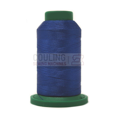 Isacord Polyester Embroidery Machine Thread 1000m - Nordic Blue 3600