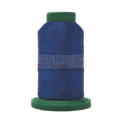 Isacord Polyester Embroidery Machine Thread 1000m - Imperial Blue 3622