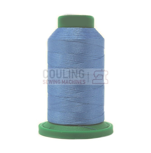 Isacord Polyester Embroidery Machine Thread 1000m - Wedgewood Blue 3641