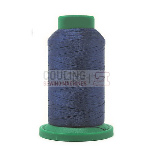 Isacord Polyester Embroidery Machine Thread 1000m - Harbor Blue 3743