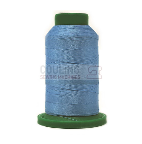 Isacord Polyester Embroidery Machine Thread 1000m - Celestial Blue 3820