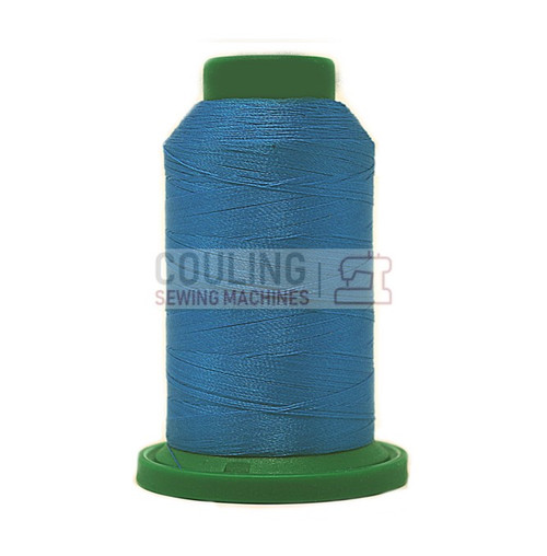 Isacord Polyester Embroidery Machine Thread 1000m - Cerulean Blue 3900