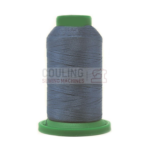 Isacord Polyester Embroidery Machine Thread 1000m - Ocean Blue 3953