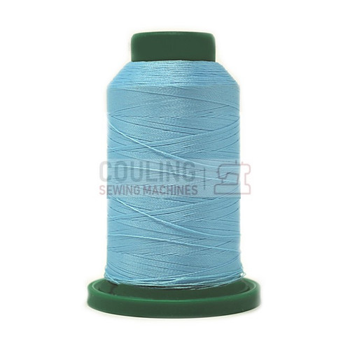 Isacord Polyester Embroidery Machine Thread 1000m - River Mist 3962