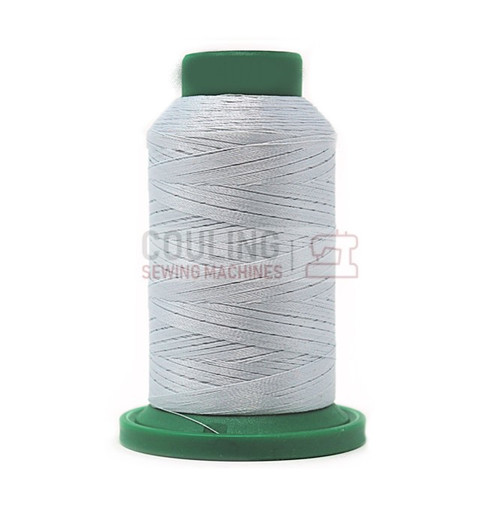 Isacord Polyester Embroidery Machine Thread 1000m - Glacier Green Blue 4071