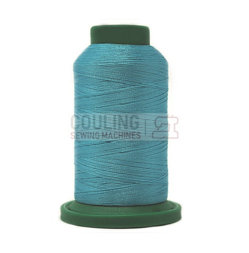 Isacord Polyester Embroidery Machine Thread 1000m - Turquoise 4111