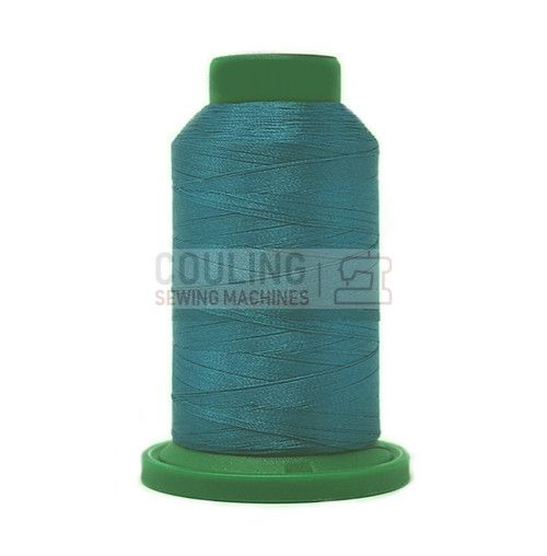 Isacord Polyester Embroidery Machine Thread 1000m - Dark Teal 4116