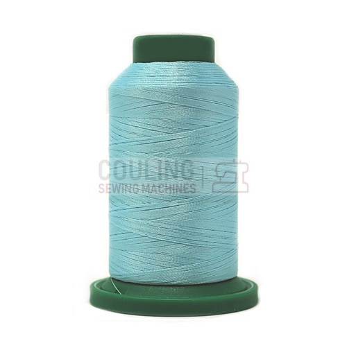 Isacord Polyester Embroidery Machine Thread 1000m - Spearmint Blue 4240