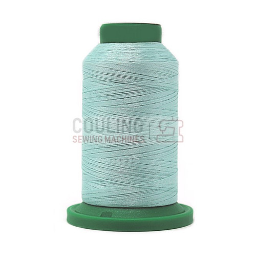 Isacord Polyester Embroidery Machine Thread 1000m - Snowmoon Blue 4250