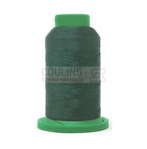 Isacord Polyester Embroidery Machine Thread 1000m - Spruce Green 4515
