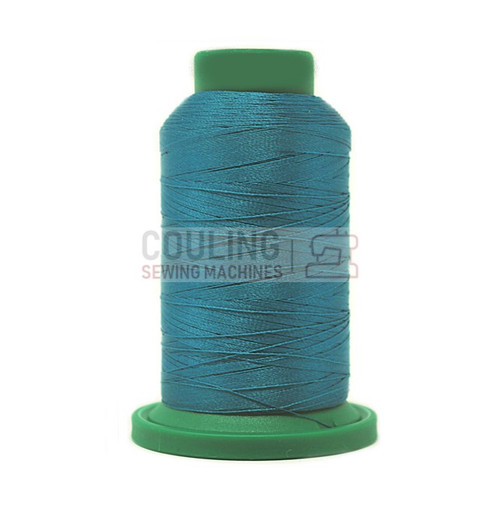 Isacord Polyester Embroidery Machine Thread 1000m - Caribbean Green 4531