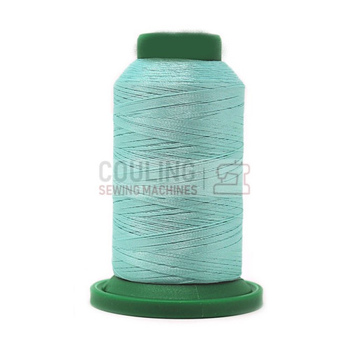 Isacord Polyester Embroidery Machine Thread 1000m - Luster Green 5050