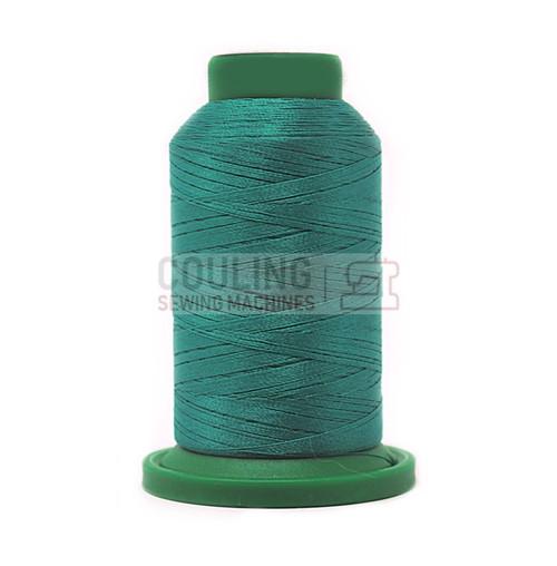 Isacord Polyester Embroidery Machine Thread 1000m - Dark Jade 5101