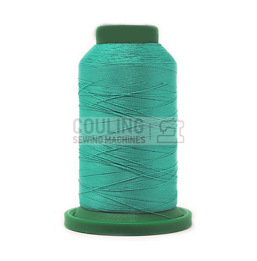 Isacord Polyester Embroidery Machine Thread 1000m - Baccarat Green 5115