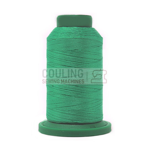 Isacord Polyester Embroidery Machine Thread 1000m - Terllis Green 5210