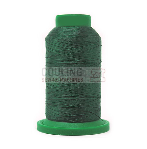Isacord Polyester Embroidery Machine Thread 1000m - Leaf Green 5324