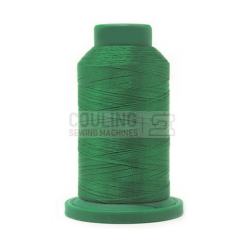 Isacord Polyester Embroidery Machine Thread 1000m - Irish Green 5415