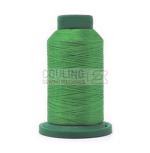 Isacord Polyester Embroidery Machine Thread 1000m - Emerald Green 5510