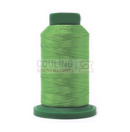 Isacord Polyester Embroidery Machine Thread 1000m - Bright Mint Green 5610
