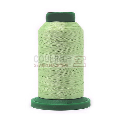 Isacord Polyester Embroidery Machine Thread 1000m - Spring Frost Green 5650