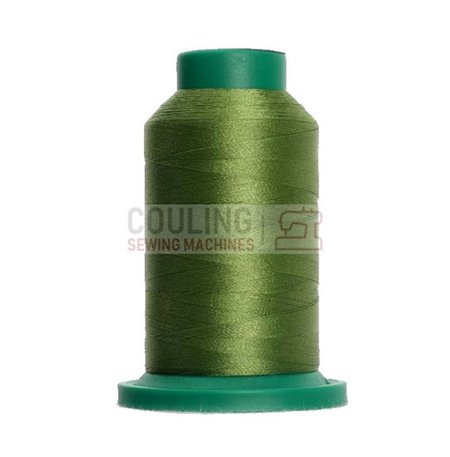 Isacord Polyester Embroidery Machine Thread 1000m - Lima Bean Green 5833