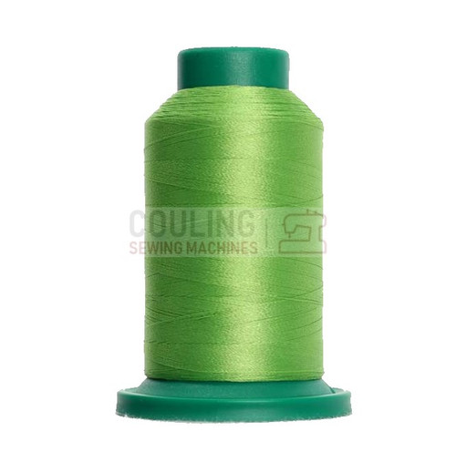 Isacord Polyester Embroidery Machine Thread 1000m - Erin Green 5912
