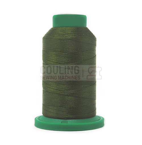 Isacord Polyester Embroidery Machine Thread 1000m - Moss Green 5934