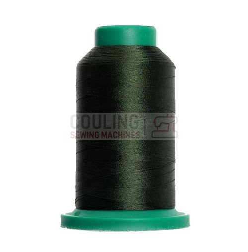 Isacord Polyester Embroidery Machine Thread 1000m - Backyard Garden Green 5944