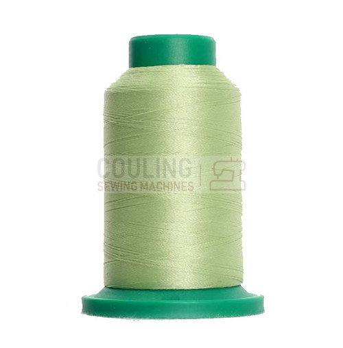 Isacord Polyester Embroidery Machine Thread 1000m - Jalapeno Green 6051